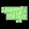 Мініатюра об'єкта 2-кім. квартира, 6 поверх