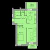 Мініатюра об'єкта 2-кім. квартира, 5 поверх