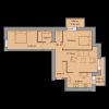 Мініатюра об'єкта 3-кім. квартира, 6 поверх