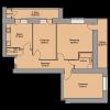 Мініатюра об'єкта 3-кім. квартира, 1 поверх