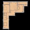 Мініатюра об'єкта 3-кім. квартира, 5 поверх
