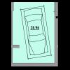 Мініатюра об'єкта Гараж, 28,96