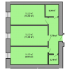 Мініатюра об'єкта 2-кім. квартира, 8 поверх